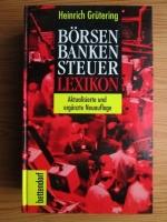 Heinrich Grutering - Borsen Banken Steuer Lexikon