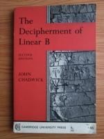 John Chadwick - The Decipherment of Linear B
