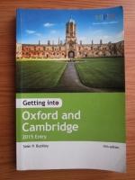 Sean P. Buckley - Getting into Oxford and Cambridge. 2015 Entry