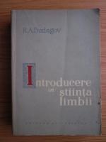 R. A. Budagov - Introducere in stiinta limbii
