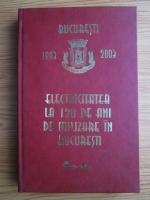 Anticariat: Electricitatea la 120 de ani de utilizare in Bucuresti