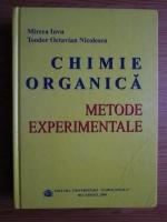 Mircea Iovu, Teodor Octavian Nicolescu - Chimie organica. Metode experimentale