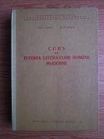 Paul Cornea - Curs de istoria literaturii romane moderne (1962)