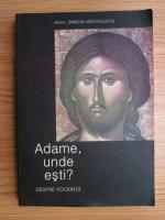 Simeon Kraiopoulos - Adame, unde esti? Despre pocainta