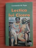 comperta: Constantin M. Popa - Lectica lui Cicero