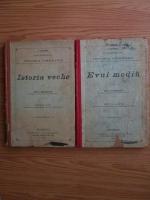 T. Ionescu, Ion C. Georgian - Curs elementar de istoria omenirii (2 volume, 1900)