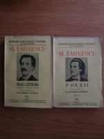 Mihai Eminescu - Proza literara. Poezii (2 volume, 1942)