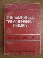 Anticariat: Gelu Bourceanu - Fundamentele termodinamicii chimice