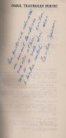 Zamfira Popescu - Omul teatrului poetic (cu autograful autorului)