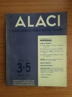 Alaci. Revista lunara de studii si cercetari economice, anul 14, nr.3-5, 1943