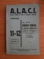 Alaci. Revista lunara de studii si cercetari economice, anul 7, nr. 11-12, 1936