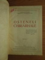 Sebastian Mitropolitul Moldovei si Sucevei: Osteneli Chiriarhale (cu autograful autorului)
