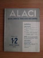 Alaci. Revista lunara de studii si cercetari economice, anul 14, nr. 1-2, 1943