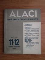 Alaci. Revista lunara de studii si cercetari economice, anul 14, nr. 11-12, 1943