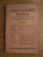 Anticariat: Analele economice si statistice, anul 22, nr. 7-12, 1939