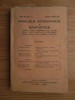 Analele economice si statistice, anul 23, nr. 1-3, 1940