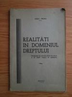 Vasile I. Feraru - Realitati in domeniul dreptului. Probleme de sociologie politica si de drept public in general (1937)