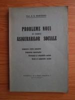 T. D. R. Ioanitescu - Probleme noui in cadrul asigurarilor sociale (1937)