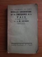 Anticariat: John Maynard Keynes - Nouvelles considerations sur les consequences de la paix (1922)