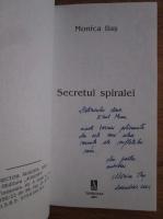 Monica Ilas - Secretul spiralei (cu autograful autorului)