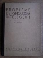 Anticariat: A. A. Smirnov - Probleme de psihologia intelegerii