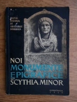 A. Aricescu - Noi monumente epigrafice din Scythia Minor