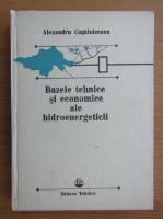 A. Cogalniceanu - Bazele tehnice si economice ale hidroenergeticii
