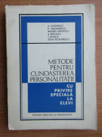 Anticariat: A. Cosmovici - Metode pentru cunoasterea personalitatii cu privire speciala la elevi