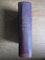 A. D. Xenopol - Istoria romanilor din Dacia traiana (volumele 5, 6, 7, 8, coligate, 1896)