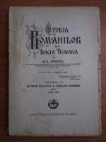 A. D. Xenopol - Istoria romanilor din Dacia Traiana. Volumul 11: Istoria politica a Tarilor Romane dela 1822-1848 (1930)