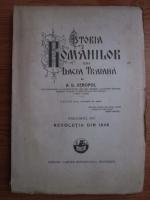 A. D. Xenopol - Istoria romanilor din Dacia Traiana. Volumul 12: Revolutia din 1848 (1930)
