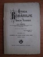 A. D. Xenopol - Istoria romanilor din Dacia Traiana. Volumul 14: Domnia lui Cuza Voda 1859-1866, partea a 2-a (1930)
