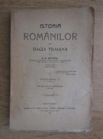 A. D. Xenopol - Istoria romanilor din Dacia Traiana (volumul 2, 1914)