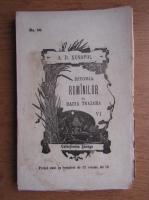 A. D. Xenopol - Istoria romanilor din Dacia Traiana (volumul 6, 1896)
