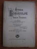 A. D. Xenopol - Istoria romanilor din Dacia Traiana. Volumul 7: Dela Matei Basarab si Vasile Lupu pana la Brancovanu 1633-1689 (1929)