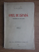 Anticariat: A. de Herz - Omul de zapada (1927)