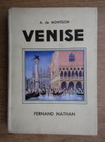 Anticariat: A. de Montgon - Venise (1937)