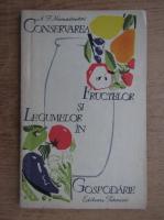 A. E. Namestinikov - Conservarea fructelor si legumelor