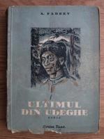Anticariat: A. Fadeev - Ultimul din udeghe (1951)