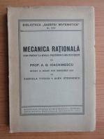 Anticariat: A. G. Ioachimescu - Mecanica rationala (1947)