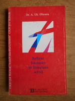 A. Gh. Olteanu - Reflexe folclorice in literatura scrisa