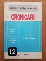 Anticariat: A. Gh. Olteanu - Scriitori romani comentati. Cronicarii