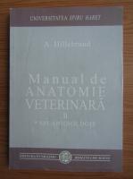 A. Hillebrand - Manual de anatomie veterinara (volumul 2)