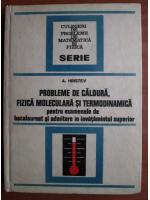 A. Hristev - Probleme de caldura, fizica moleculara si termodinamica