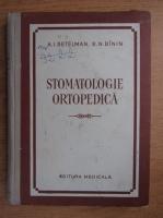 Anticariat: A. I. Betelman - Stomatologia ortopedica
