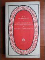 A. I. Odobescu - Scene istorice din cronicele romanesti. Pseudo-cynegeticos