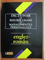 Anticariat: A. Ivanovic - Dictionar de resurse umane si managementul personalului Englez-Roman
