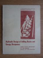 Anticariat: A. J. Peterka - Hydraulic design of stilling basins and energy dissipators