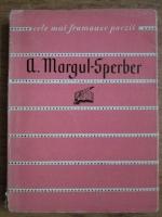 Anticariat: A. Margul Sperber - Poezii