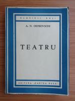 Anticariat: A. N. Ostrovschi - Teatru